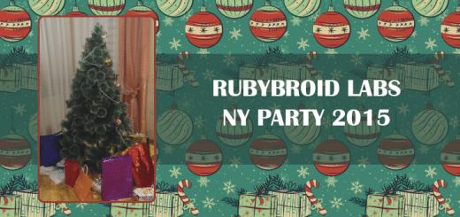 Rubyroid NY Party