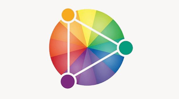 colour triangle