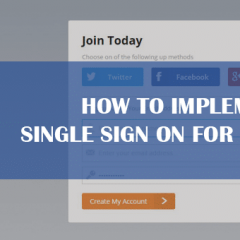How to Implement Single Sign On for Your Apps