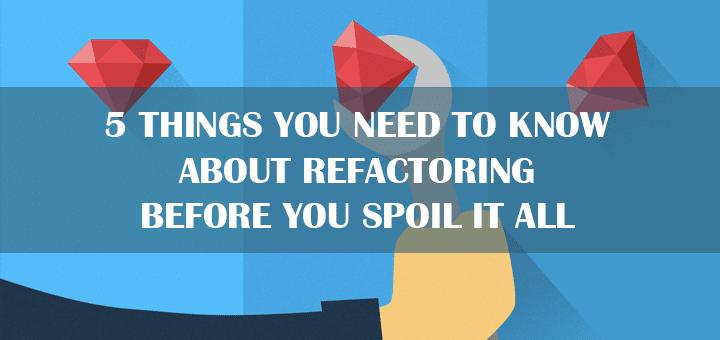 refactoring tips