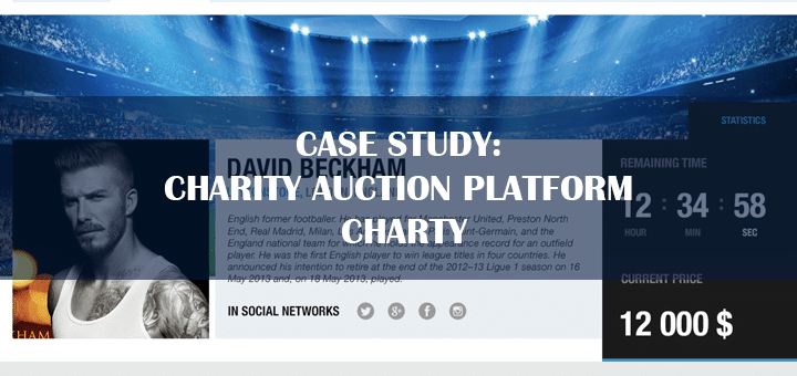 Case Study: Charity Auction Platform Charty
