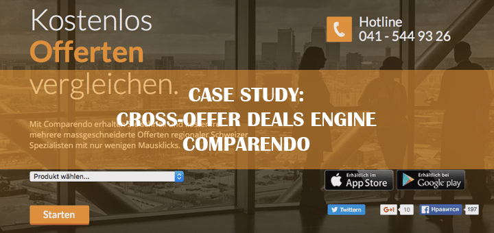 Case Study: Cross Offer Deals Engine Comparendo