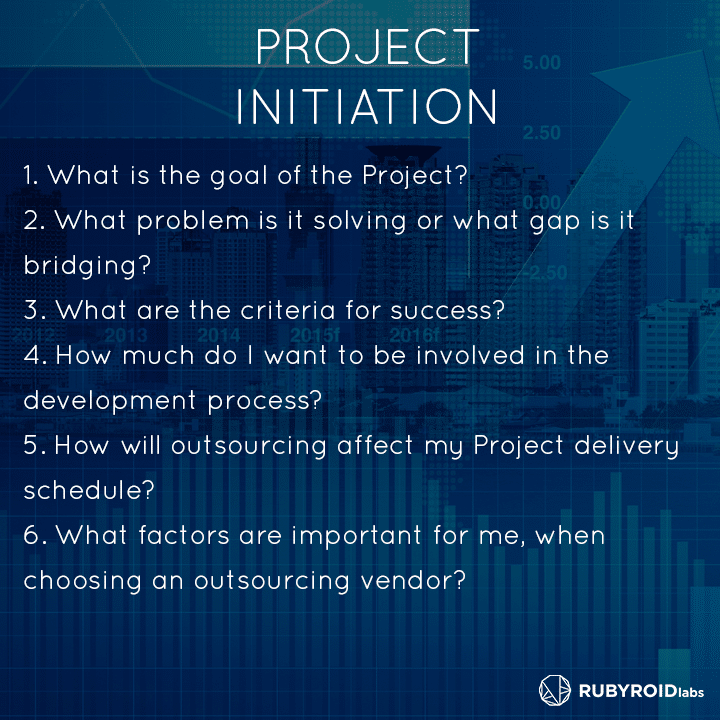 1 project initiation