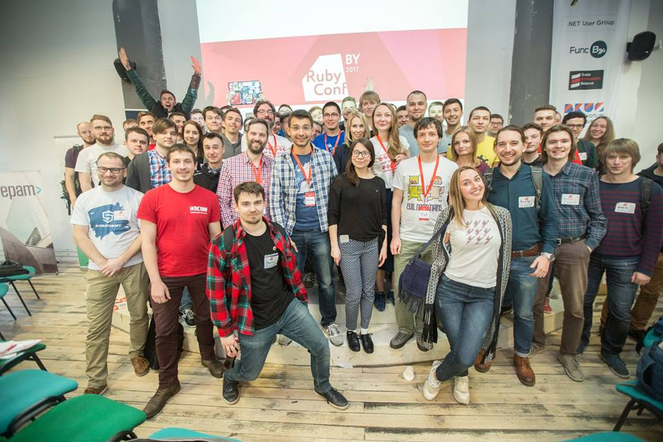 Check Out Ruby Conf BY 2017 Results!