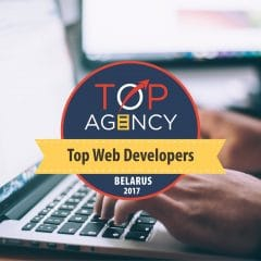 Rubyroid Labs Ranked among Top Web Developers in Belarus
