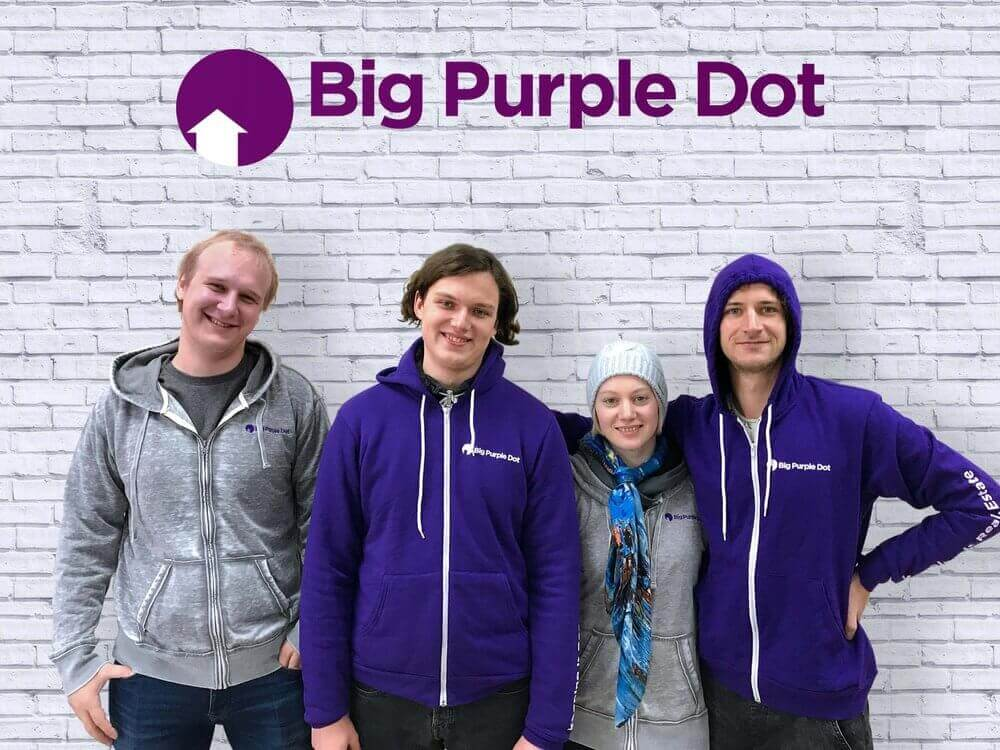 Big Purple Dot
