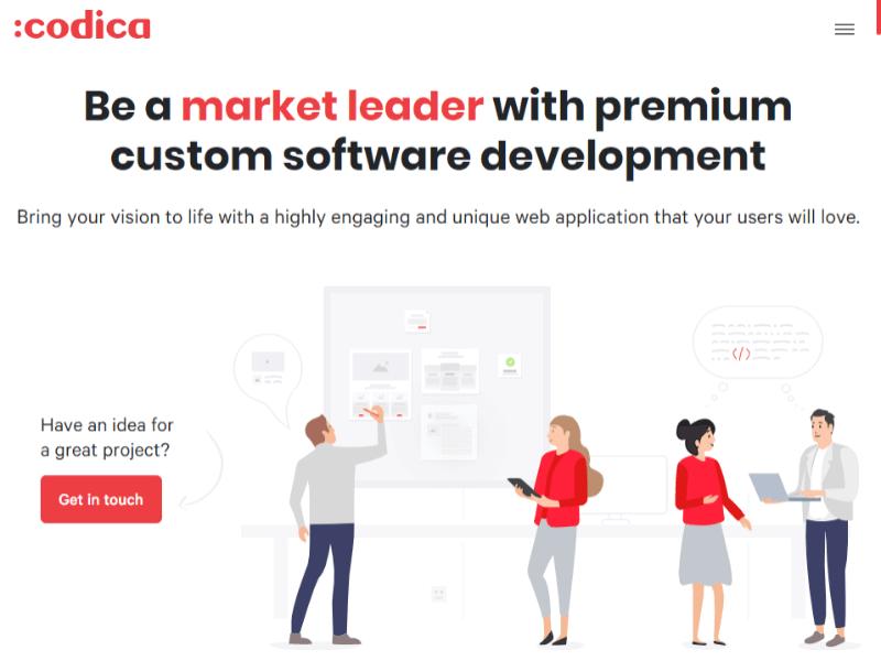 Codica homepage