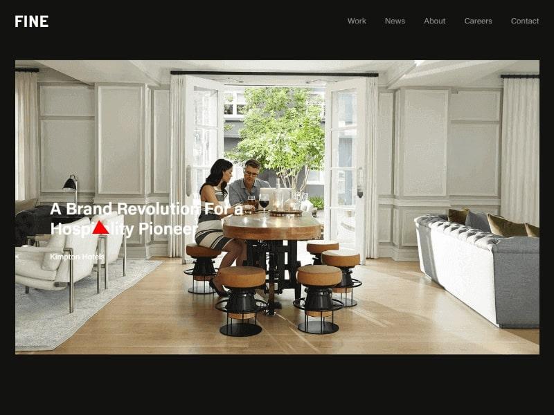 FINE homepage