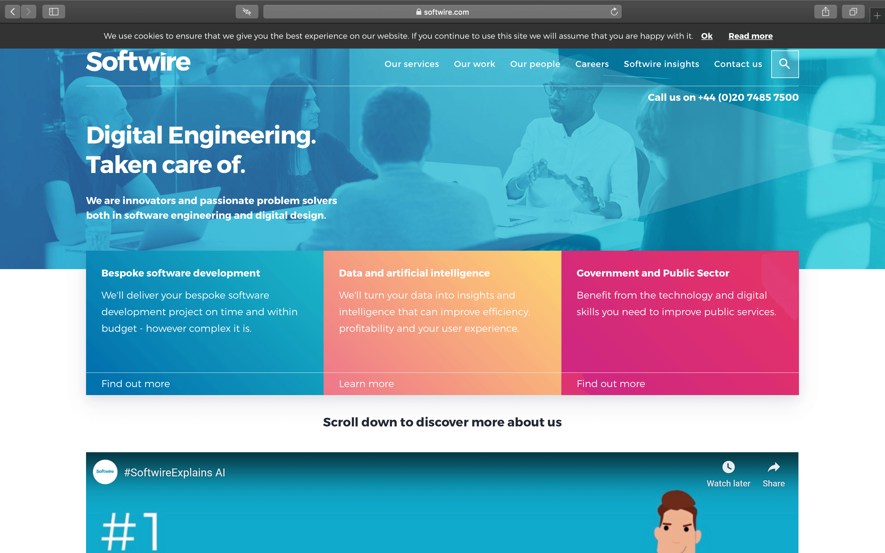 softwire homepage